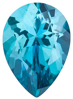 Pear Shape Teal Passion Topaz Natural Quality Loose Cut Gemstone Grade AAA  10.00 x 7.00 mm in Size