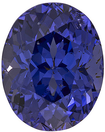 Phenomenal Pretty Violetish Blue Spinel in Oval Cut, 11.1 x 8.8 mm, 5.18 carats