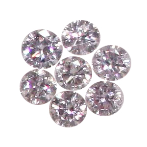 Pink Diamonds Natural Color Melee