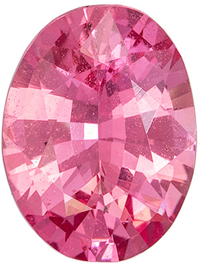 Pink Peachy Sapphire Oval No Heat, 1.29 carats, 7.97 x 6.01 x 3.53 mm, GIA Certed