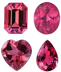 PINK TOURMALINE  - Calibrated