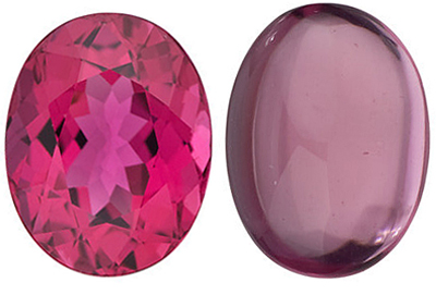 PINK TOURMALINE Oval Cut Gems  - Calibrated