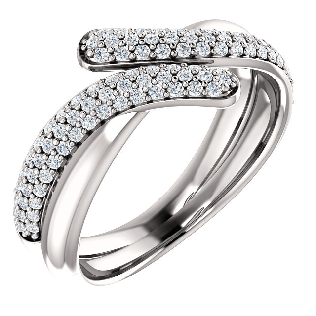 Platinum 0.50 Carat TW Diamond Ring