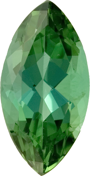 Pretty Marquise GreenTourmaline With Tinges of Blue, 16.1 x 8.1mm, 4.48 carats