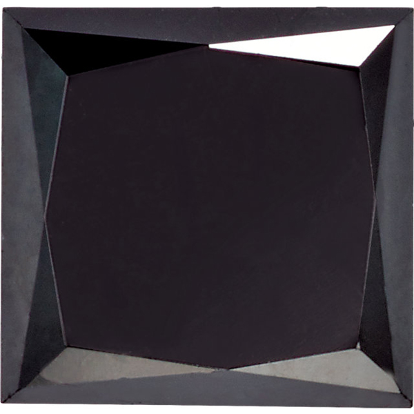 Shop For Enhanced Black Diamond Melee, Princess Shape, SI Clarity, 2.50 mm in Size, 0.15 Carats