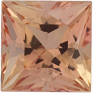 Princess Shape Precious Imperial Topaz Natural Quality Loose Cut Gemstone Grade AAA  5.50 mm in Size 1.1 carats,