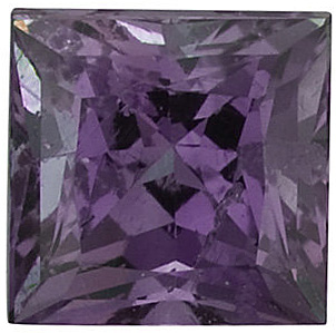 Quality Alexandrite Gemstone, Princess Shape, A, 2.25 mm in Size, 0.14 Carats