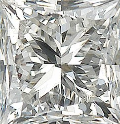 Quality Diamond Melee, Princess Shape, I-J Color - SI2-SI3 Clarity, 2.00 mm in Size, 0.05 Carats