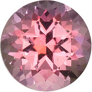 Quality Pink Passion Topaz Gem, Round Shape, Grade AAA, 7.00 mm in Size