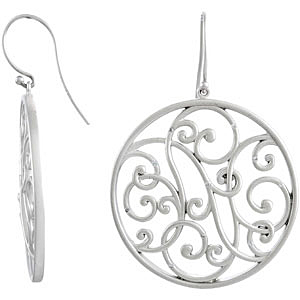 Radiant 0.10 carat total weight Diamond Earrings expertly set in Sterling Silver for SALE - 1.00 mm stones