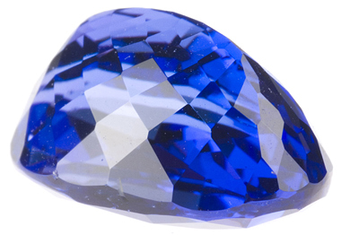 Radiant Stone with Fine Intense Color Tanzanite Gemstone 4.82 carats