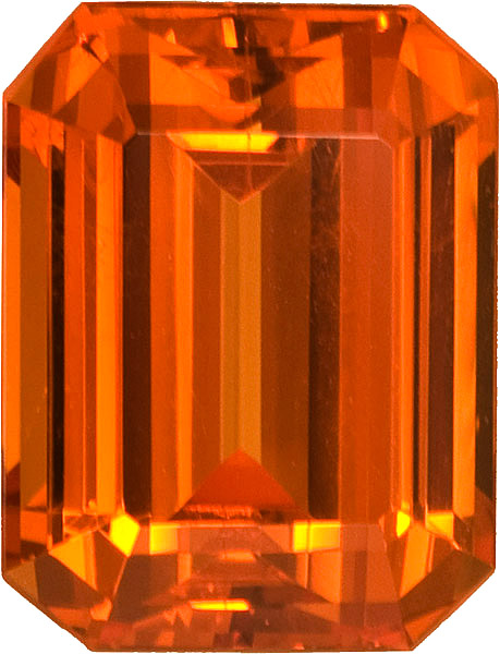 Rare Quality in Super GEM Spessartite Garnet in Sunkist Orange, 11.8  x 10.0 mm, 8.65 carats - SOLD