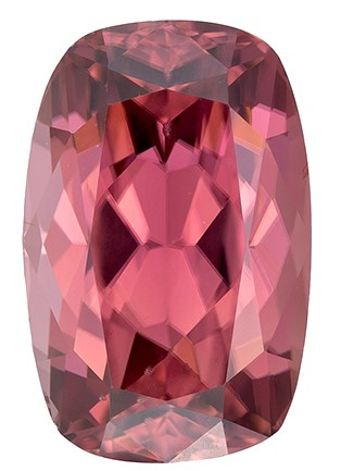 Real Brown Zircon Gemstone, Cushion Cut, 2.42 carats, 8.6 x 5.6 mm , AfricaGems Certified - A Low Price