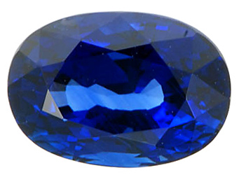 Real Deal!  Beautiful GEM Quality Natural Oval Shaped Blue Sapphire Gemstone 3.01 carats at AfricaGems