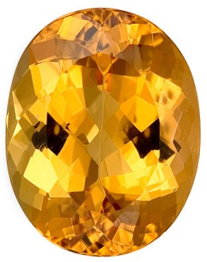 Real Precious Topaz Gemstone, Oval Cut, 5.87 carats, 12.5 x 9.8 mm , AfricaGems Certified - A Deal