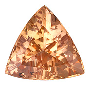 Real Precious Topaz Gemstone, Trillion Cut, 0.81 carats, 6.8 mm , AfricaGems Certified - A Low Price