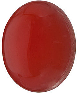 Red Carnelian  in Grade AAA Oval Cab Gems