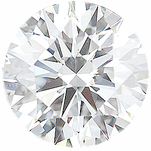 Round Diamond  Precision-Ideal  F Color - SI1 Clarity