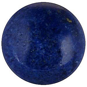 Lapis Round Cut Cabochon in Grade AAA