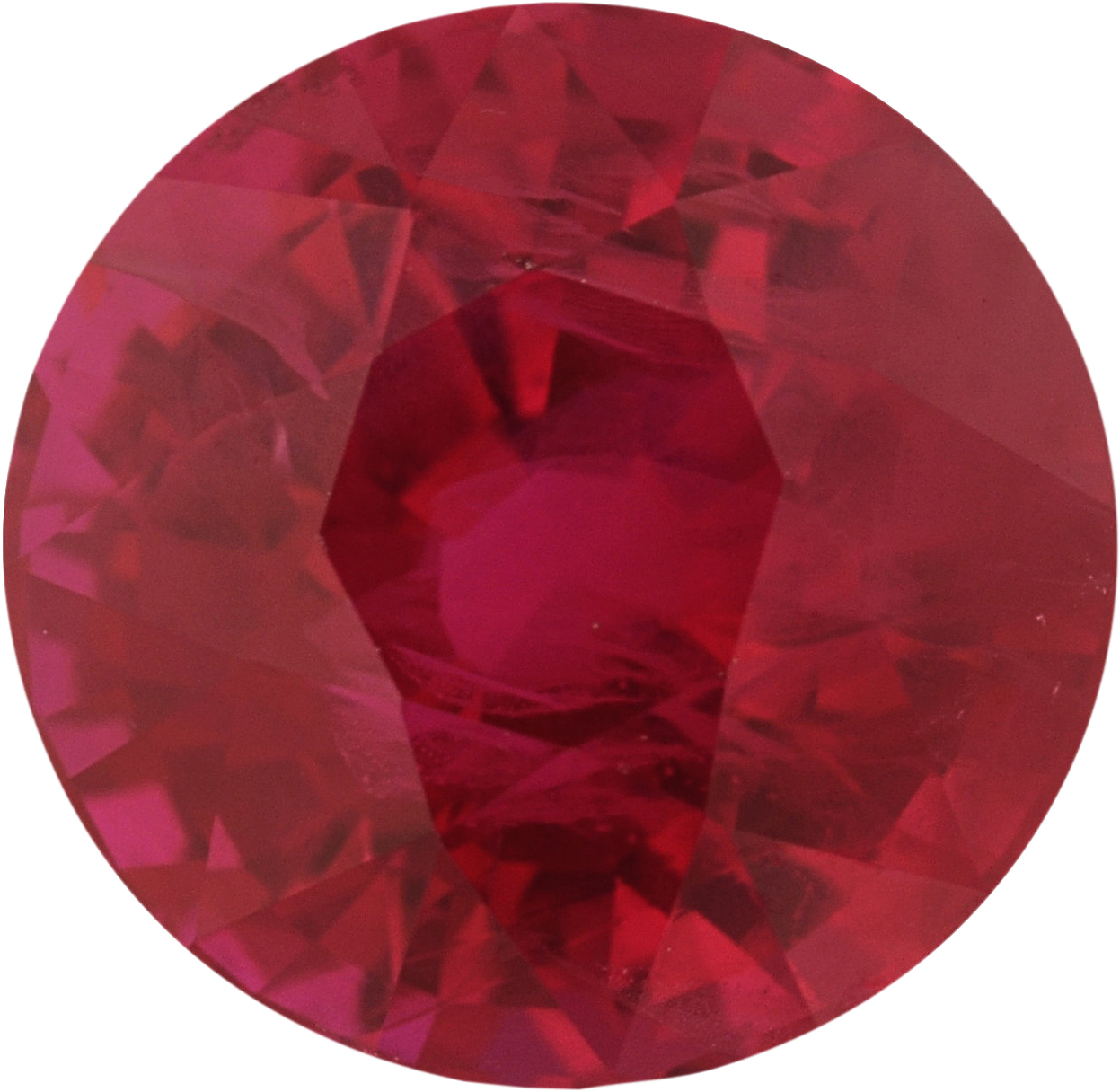 6.29 mm, Ruby Loose Gemstone in Round Cut, 1.44 carats
