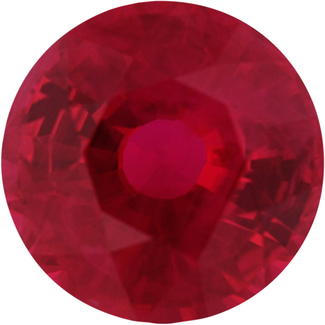 5.93 mm, Ruby Loose Gemstone in Round Cut, 1 carats