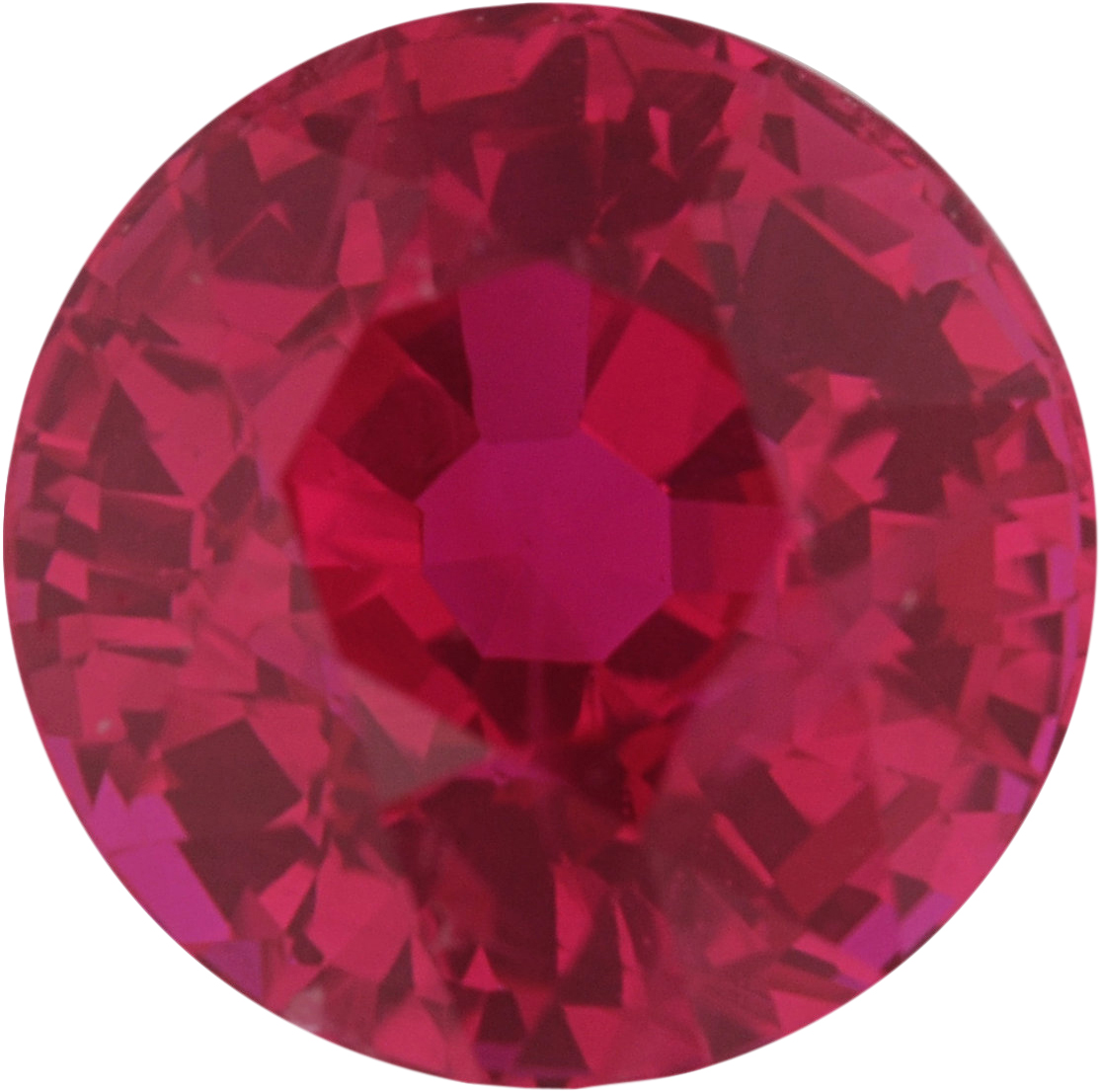 5.88 mm, Ruby Loose Gemstone in Round Cut, 1.16 carats
