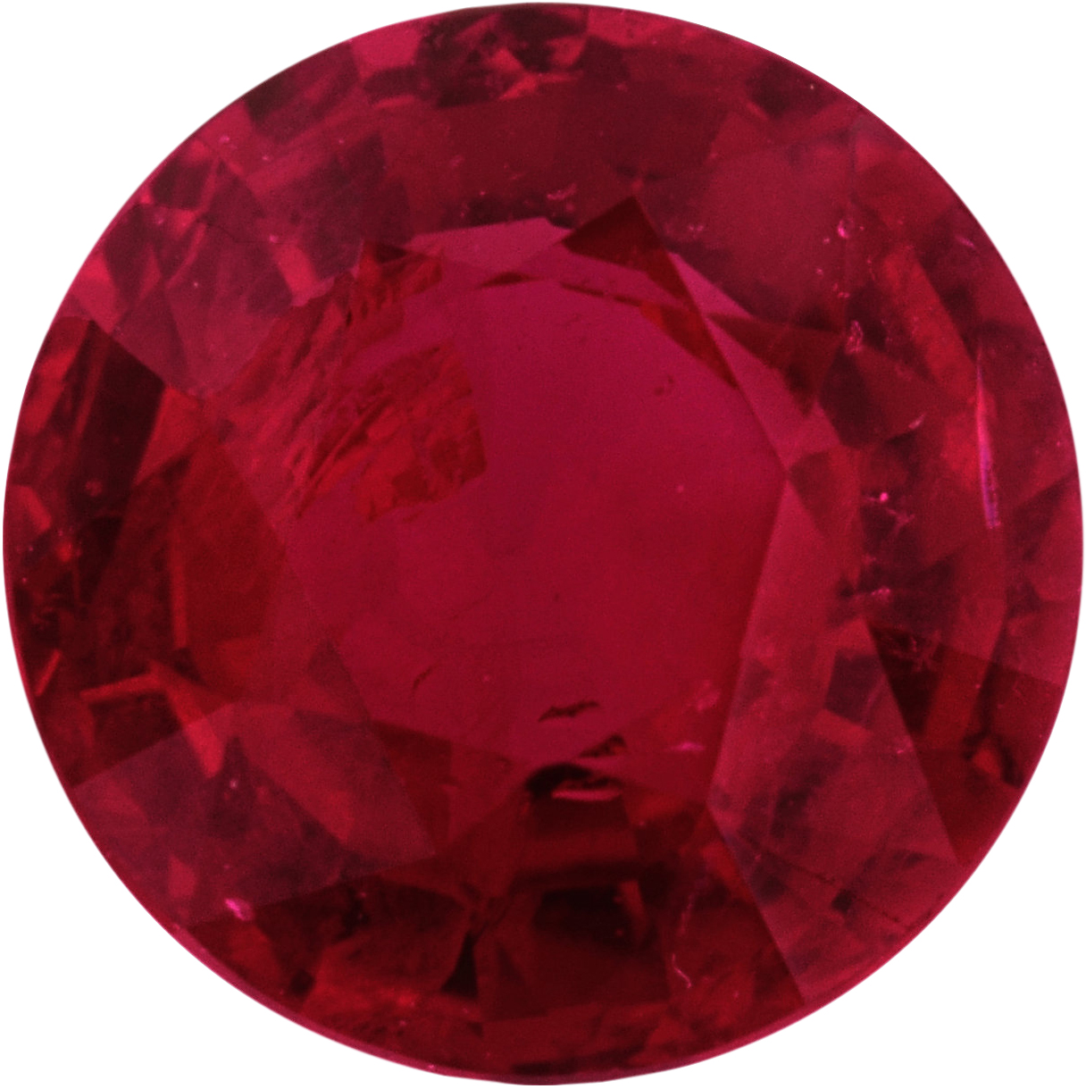 6.04 mm, Ruby Loose Gemstone in Round Cut, 1.06 carats