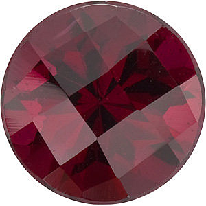 Standard Size Natural Top Quality Round Shape cab Rhodolite Garnet Grade AAA, 7.00 mm in Size, 1.75 carats