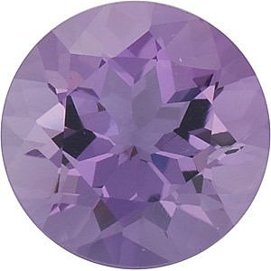 Round Shape Genuine Amethyst Loose  Gemstone   Grade B 0.12 carats,  3.25 mm in Size