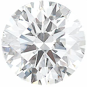 Round Shape Precision Diamond Melee F Color - SI1 Clarity, 2.25 mm, in Size, 2.25 mm Carats