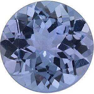 Round Shape Tanzanite Gemstone Grade AA  1.75 mm