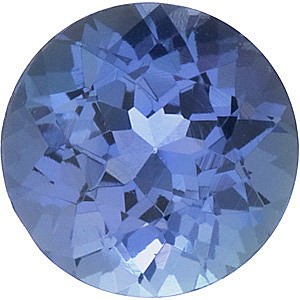 Round Shape Tanzanite Gemstone Grade AAA  5.50 mm