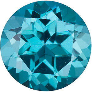 Round Shape Teal Passion Topaz Genuine Cut Quality Gemstone Grade AAA  7.00 mm in Size