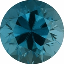 5.52 carats Round Cut Genuine Zircon Gem, 10.02 mm
