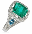 SAROSI EMERALD RINGS