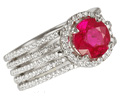 SAROSI RUBY RINGS