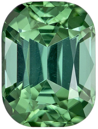Sea Foam Blue Green Tourmaline Loose Gemstone For Sale, Awesome Color in 7.4 x 5.5 mm, 1.45 carats