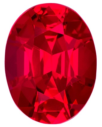 Selected Ruby Gemstone, 1.17 carats, Oval Cut, 7.32 x 5.55 x 3.78 mm, A Great Find On This Gem with GIA Cert
