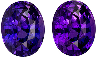 Serious Gem in GIA Certified 3.85 carats Sapphire Loose Genuine Gemstone in Oval Cut, Pink Purple, 10.4 x 8.2 mm