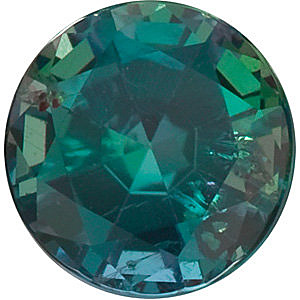 Faceted Alexandrite Gemstone, Round Shape, Grade AA, 2.75 mm in Size, 0.09 Carats
