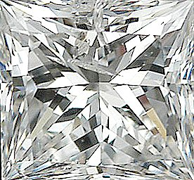 Shop For Diamond Melee, Princess Shape, I-J Color - I1 Clarity, 2.25 mm in Size, 0.07 Carats
