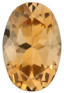 Shop For Golden Citrine Gem, Oval Shape Enlightented Saffron, Grade GEM, 6.00 x 4.00 mm in Size, 0.4 carats