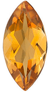 Shop For Golden Citrine Gemstone, Marquise Shape, Grade AA, 4.00 x 2.00 mm in Size, 0.08 carats