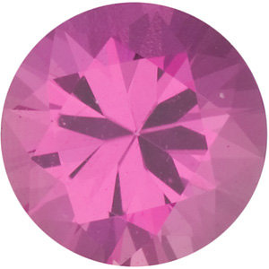 Shop For Pink Sapphire Stone, Round Shape Diamond Cut, Grade AA, 2.75mm in Size, 0.11 Carats