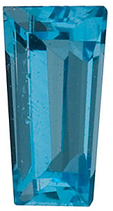 Shop For Swiss Blue Topaz Gem, Tapered Baguette Shape, Grade AAA, 4.00 x 2.00 x 1.50 mm in Size, 0.12 Carats