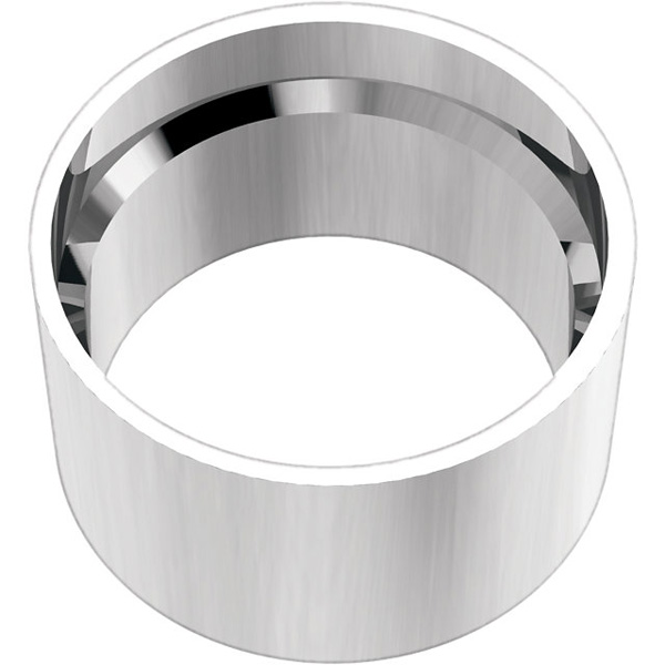 Sleek 14kt Round Tube Bezel Setting with Bearing For Round Gems Sized 1.75 mm - 8.00 mm