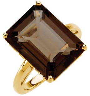 Smoky Quartz Ring