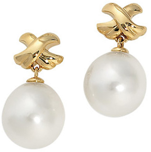 South Sea Cultured Pearl Earrings