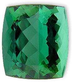 Special GEM Quality - USA Cutting Blue Green Tourmaline Gemstone 13.81 carats