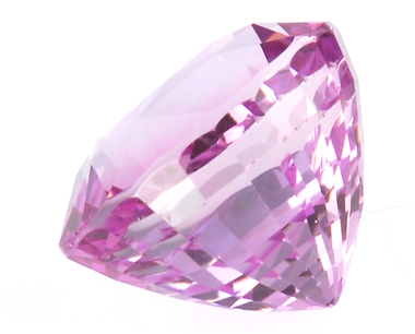 Spectacular Fine Quality Very Large Oval Cut Pink Sapphire Gemstone 7.84 carats